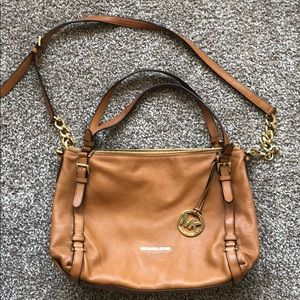 MICHAEL by MK Camel Hobo Purse